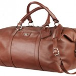 Duffel Bag - Cutter and buck leather weekender