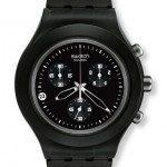 Swatch Full-Blooded Collection Smoky Black